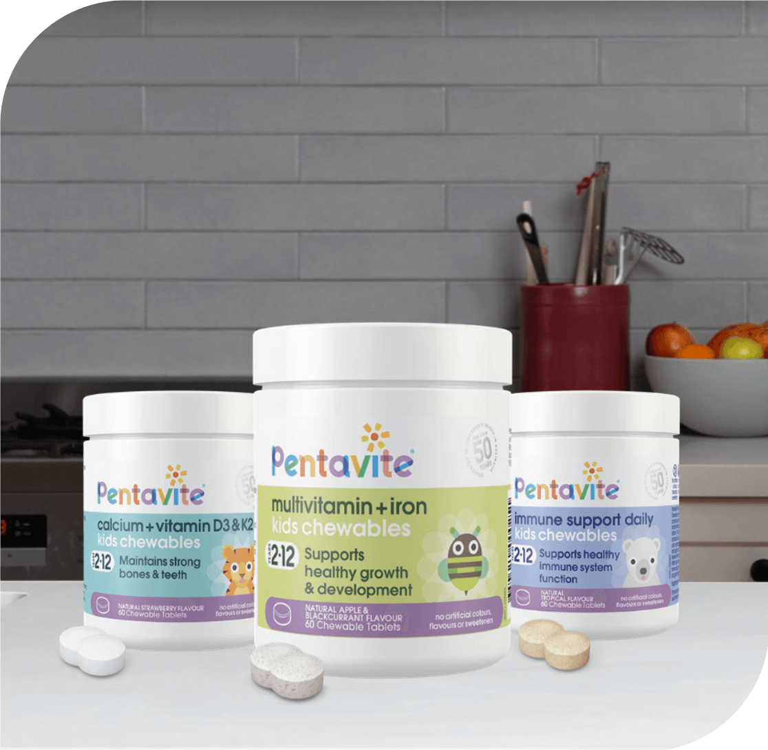 all new Pentavite chewables