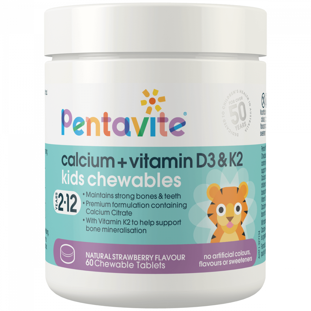 Pentavite_Calcium_VitaminD3_60Chewables_Tub_Front