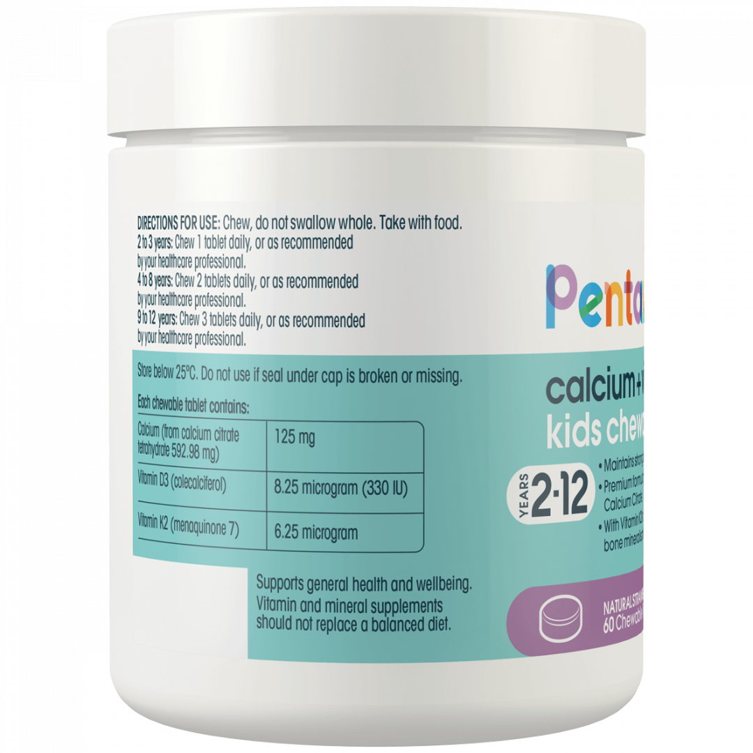 Pentavite_Calcium_VitaminD3_60Chewables_Tub_Left
