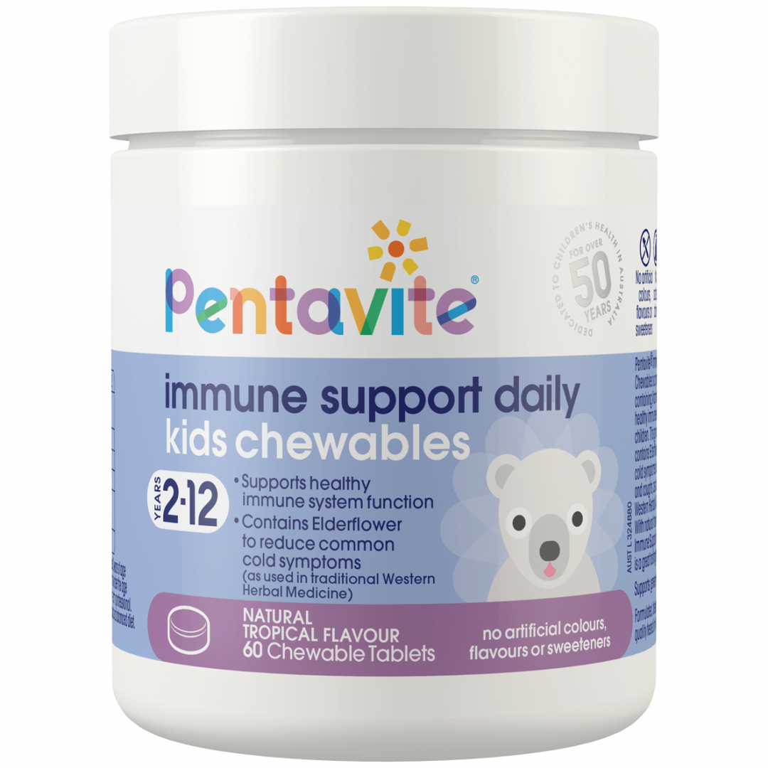 Pentavite_Immune-Support-Daily_60Chewables_Tub_Front