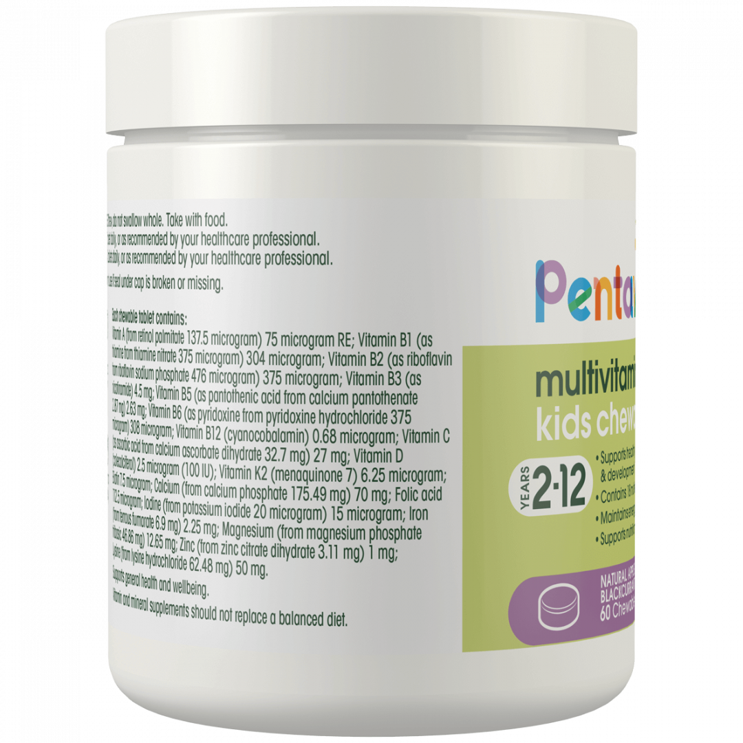 Pentavite_MultiVitamin-Iron_60Chewables_Tub_Left